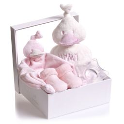 BamBam - Pink Duck 4 Piece Gift Set