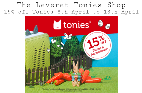 The Leveret Tonies Shop